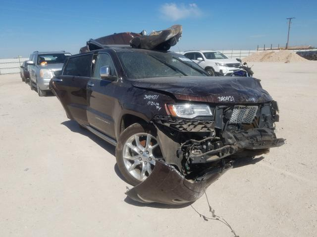 Salvage cars for sale from Copart Andrews, TX: 2014 Jeep Grand Cherokee