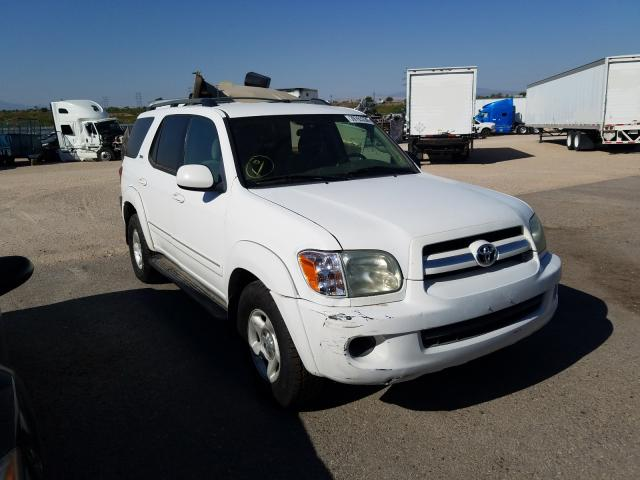 Toyota salvage cars for sale: 2005 Toyota Sequoia SR