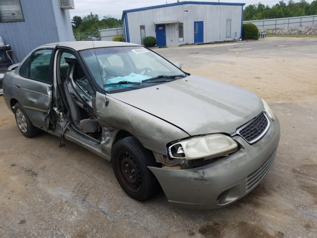 Nissan salvage cars for sale: 2002 Nissan Sentra XE
