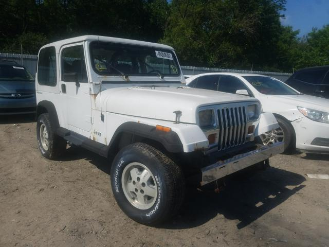 Salvage cars for sale from Copart Glassboro, NJ: 1992 Jeep Wrangler