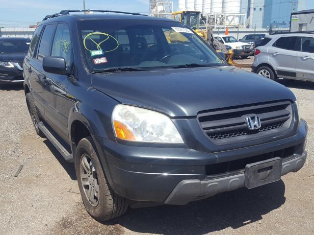 Honda Pilot EXL salvage cars for sale: 2003 Honda Pilot EXL