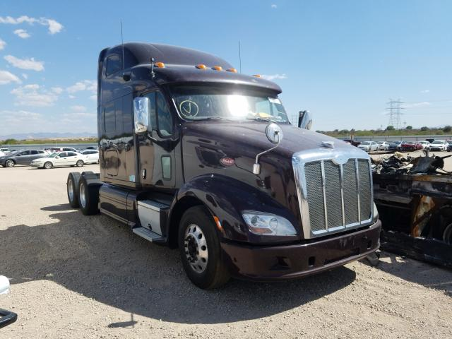 Salvage cars for sale from Copart Tucson, AZ: 2013 Peterbilt 587