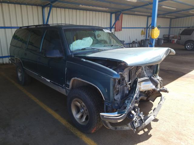 Chevrolet Suburban K salvage cars for sale: 1997 Chevrolet Suburban K