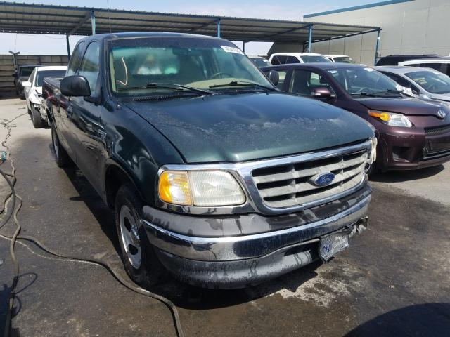 Salvage cars for sale from Copart Anthony, TX: 2001 Ford F150