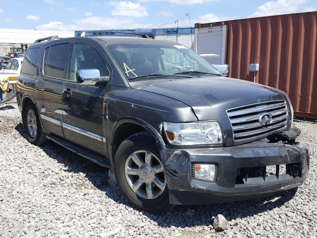 Infiniti salvage cars for sale: 2006 Infiniti QX56
