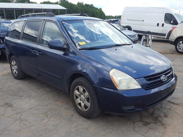 Salvage cars for sale from Copart Austell, GA: 2008 KIA Sedona EX
