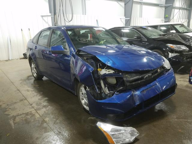 Ford Focus SES salvage cars for sale: 2009 Ford Focus SES