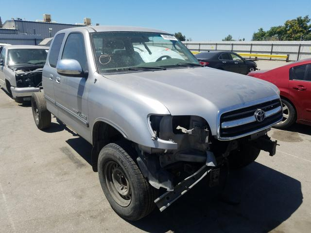 Salvage cars for sale from Copart Bakersfield, CA: 2002 Toyota Tundra ACC