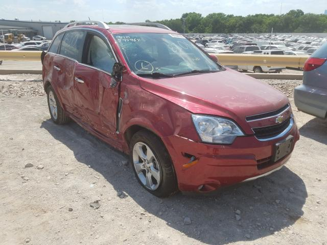 Salvage cars for sale from Copart Oklahoma City, OK: 2014 Chevrolet Captiva LT