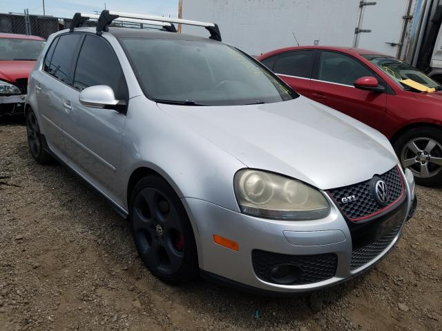 Volkswagen GTI salvage cars for sale: 2008 Volkswagen GTI