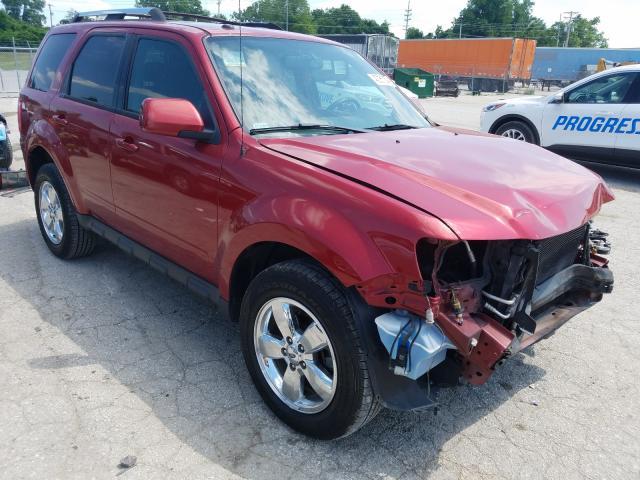 Salvage cars for sale at Bridgeton, MO auction: 2012 Ford Escape LIM