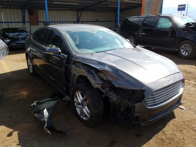 Ford Fusion SE salvage cars for sale: 2016 Ford Fusion SE