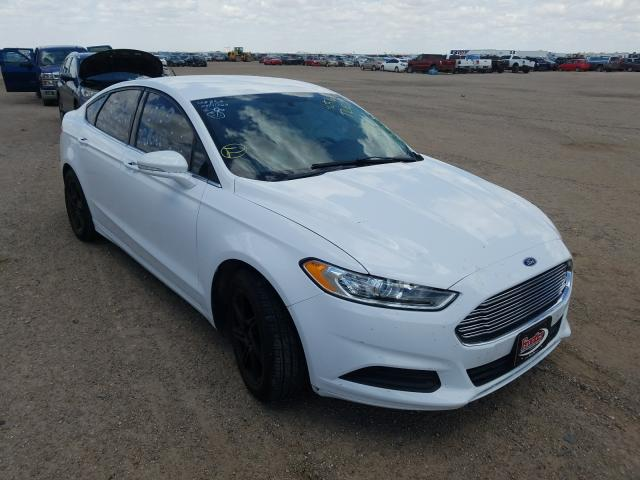 Salvage cars for sale from Copart Amarillo, TX: 2015 Ford Fusion SE