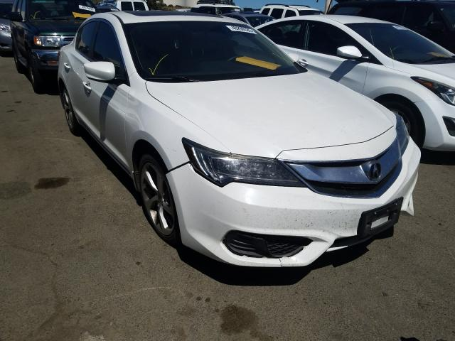 Acura ILX Base W salvage cars for sale: 2016 Acura ILX Base W