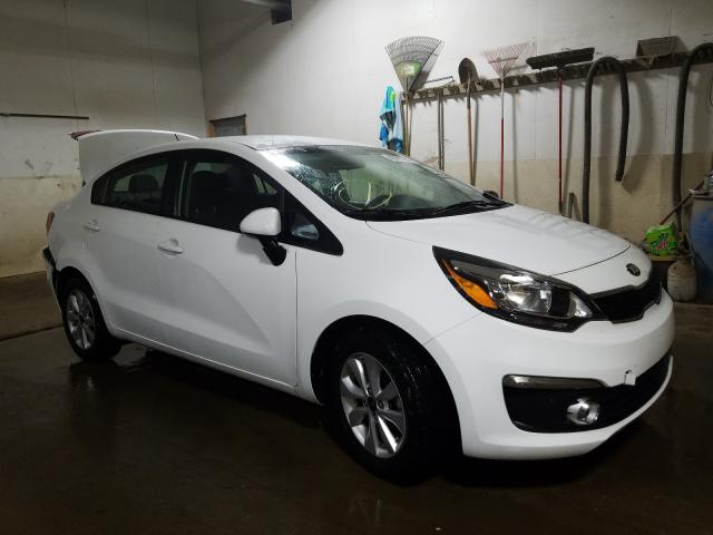 KIA Rio EX salvage cars for sale: 2017 KIA Rio EX