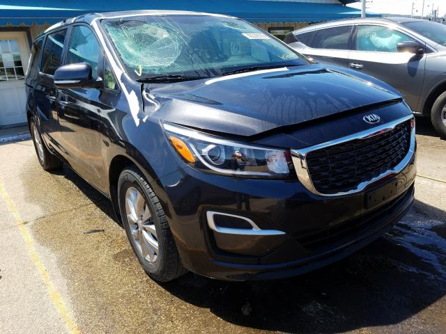 KIA Sedona LX salvage cars for sale: 2019 KIA Sedona LX