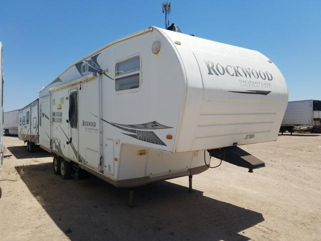 Rockwood salvage cars for sale: 2008 Rockwood Signature