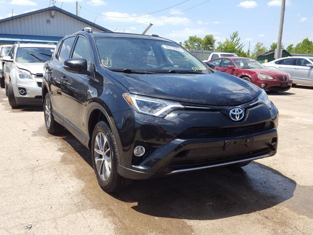 Salvage cars for sale from Copart Pekin, IL: 2016 Toyota Rav4 HV XL