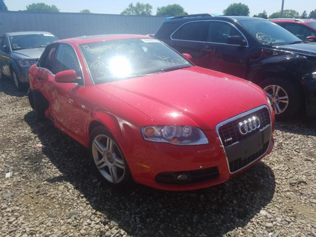 Audi salvage cars for sale: 2008 Audi A4 2.0T Quattro