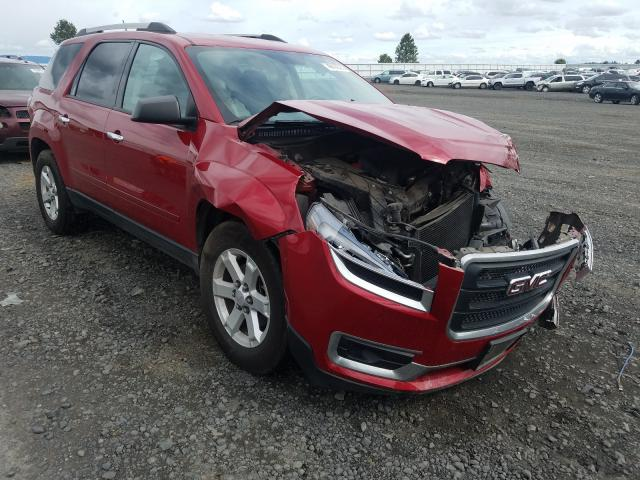 Salvage cars for sale from Copart Airway Heights, WA: 2013 GMC Acadia SLE