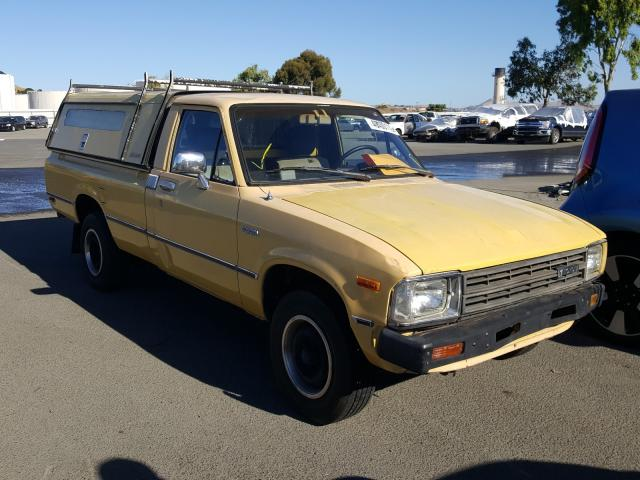 Salvage cars for sale from Copart Martinez, CA: 1983 Toyota Pickup 1/2