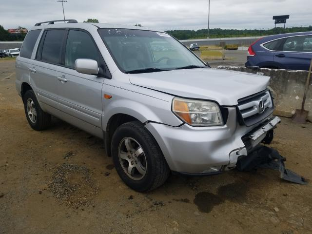 Salvage cars for sale from Copart Concord, NC: 2006 Honda Pilot EX