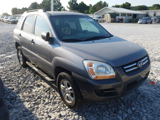 KIA salvage cars for sale: 2008 KIA Sportage E
