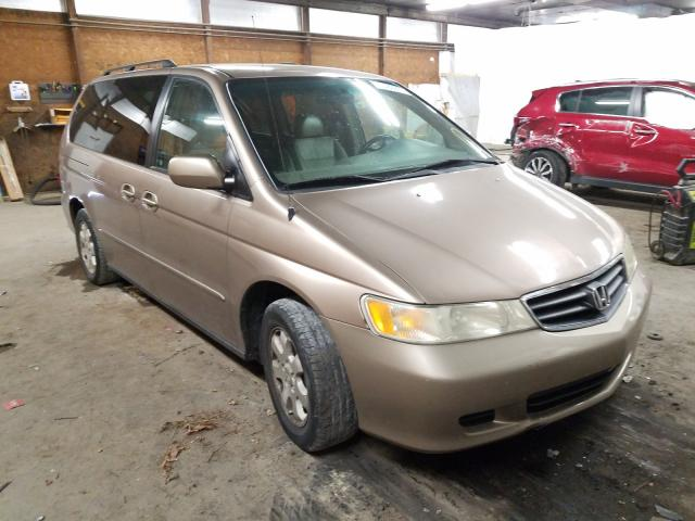 Salvage cars for sale from Copart Ebensburg, PA: 2003 Honda Odyssey EX