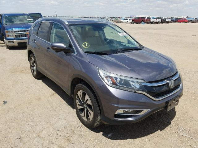 Honda CR-V Touring salvage cars for sale: 2015 Honda CR-V Touring