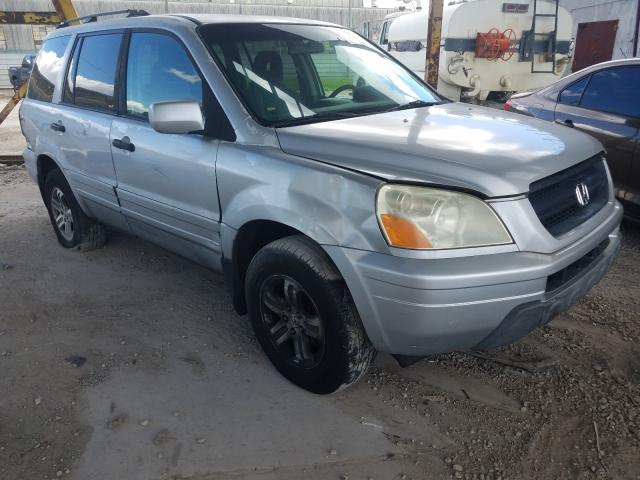 Honda Pilot EX salvage cars for sale: 2003 Honda Pilot EX