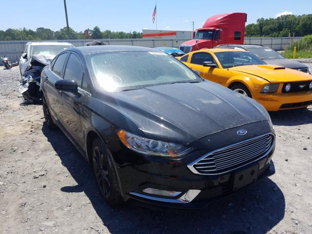 Ford Fusion SE salvage cars for sale: 2018 Ford Fusion SE