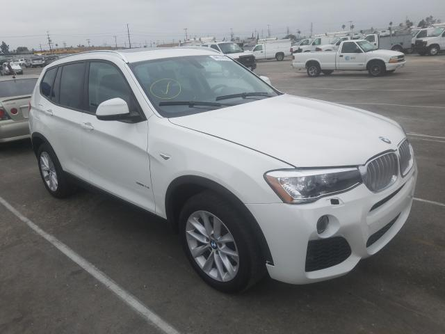 Salvage cars for sale from Copart Sun Valley, CA: 2017 BMW X3 SDRIVE2