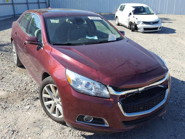 Salvage cars for sale from Copart Lansing, MI: 2015 Chevrolet Malibu 2LT