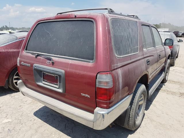2000 TOYOTA 4RUNNER - Right Rear View