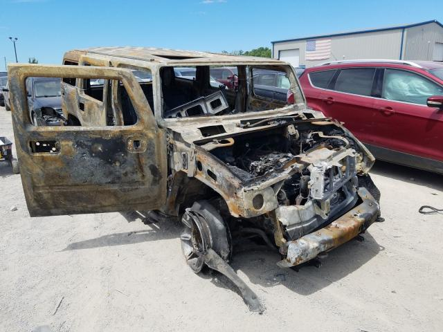 Hummer H2 salvage cars for sale: 2005 Hummer H2
