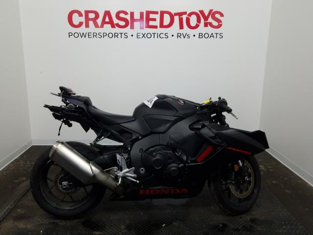 Honda CBR1000 RR salvage cars for sale: 2017 Honda CBR1000 RR