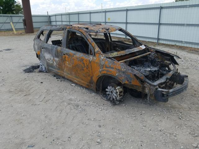 Salvage cars for sale from Copart Wichita, KS: 2014 Dodge Journey SX