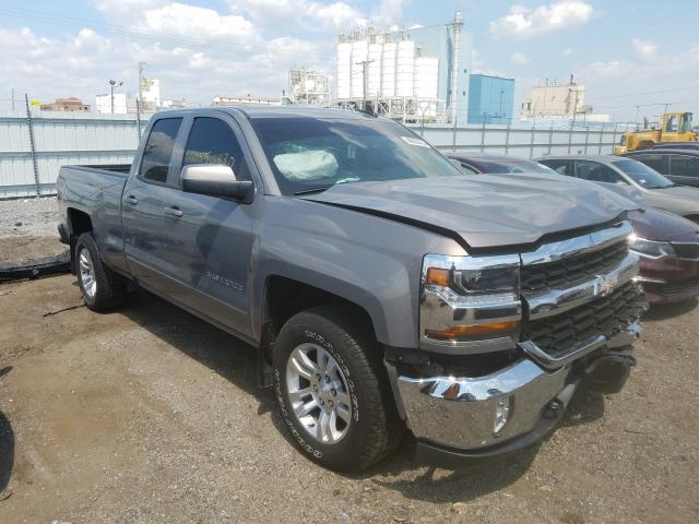 Salvage trucks for sale at Chicago Heights, IL auction: 2017 Chevrolet Silverado