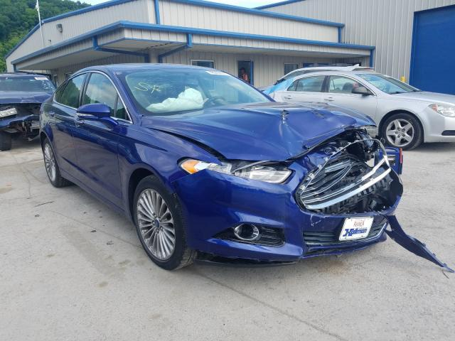Ford Fusion Titanium salvage cars for sale: 2014 Ford Fusion Titanium