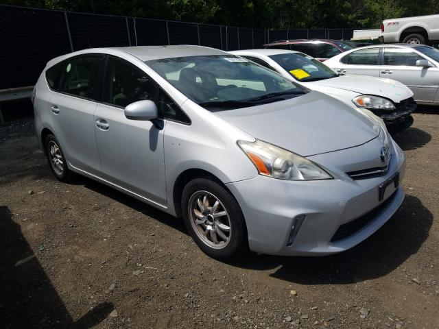 Salvage cars for sale from Copart Waldorf, MD: 2013 Toyota Prius V