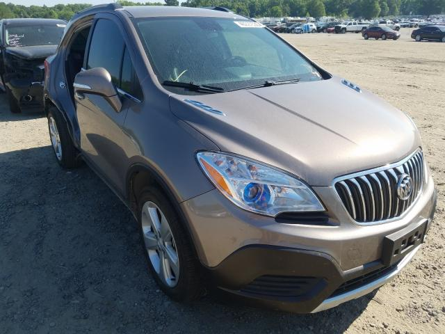 Buick Encore salvage cars for sale: 2015 Buick Encore