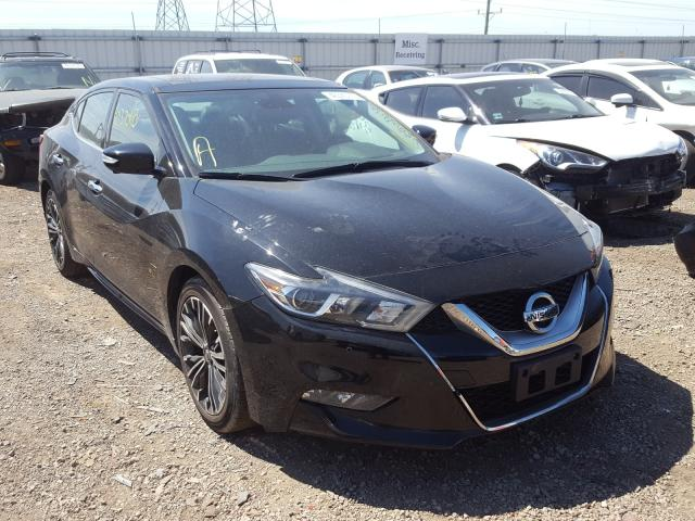 Nissan Maxima 3.5 salvage cars for sale: 2016 Nissan Maxima 3.5