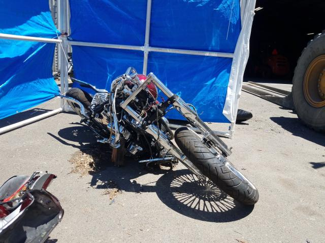 Harley-Davidson salvage cars for sale: 1997 Harley-Davidson Flstc