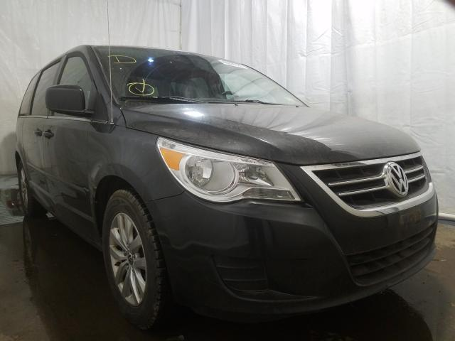 Salvage cars for sale from Copart Central Square, NY: 2012 Volkswagen Routan SE