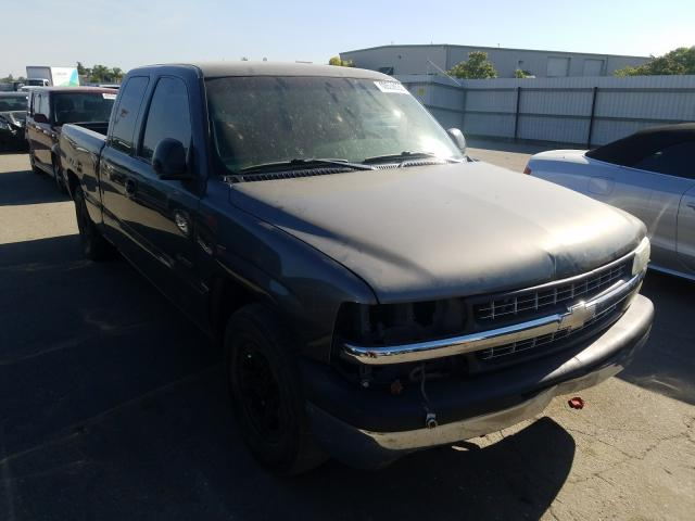 Salvage cars for sale from Copart Bakersfield, CA: 2002 Chevrolet Silverado