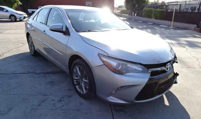Salvage cars for sale from Copart Rancho Cucamonga, CA: 2016 Toyota Camry LE