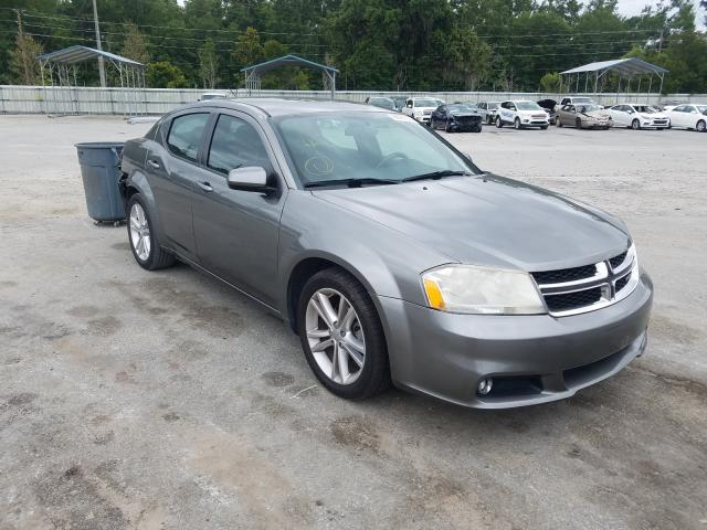 Salvage cars for sale from Copart Savannah, GA: 2012 Dodge Avenger SX