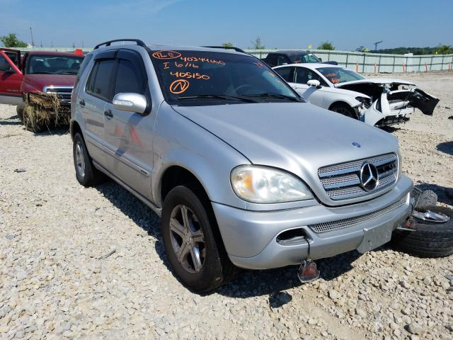 Vehiculos salvage en venta de Copart Kansas City, KS: 2003 Mercedes-Benz ML 350