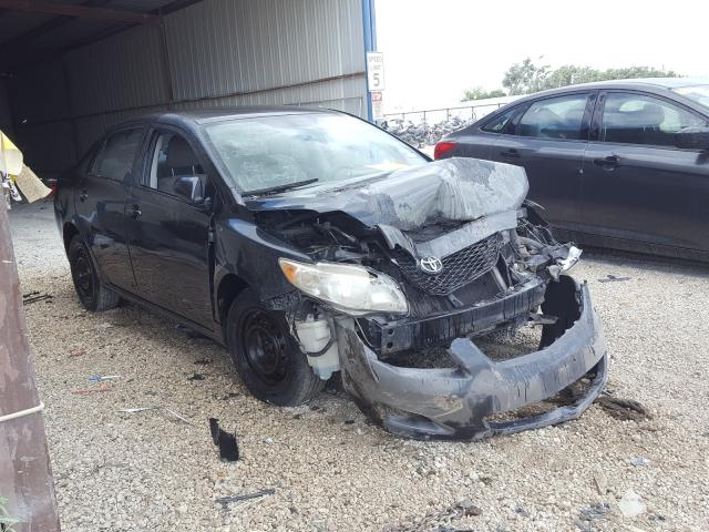 Salvage cars for sale from Copart San Antonio, TX: 2009 Toyota Corolla BA