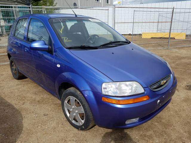 Chevrolet salvage cars for sale: 2008 Chevrolet Aveo Base